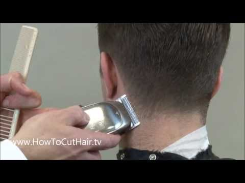 Tapered Hairline - Natural Hairline - Greg Zorian's Online Barber School