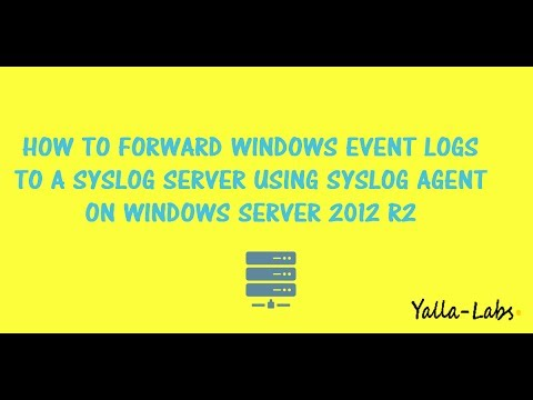 Rsyslog - How To Send Windows Event Logs to a Syslog Server and Loganalyzer using Syslog Agent