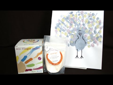 Eco-Finger Paint from Eco-Kids