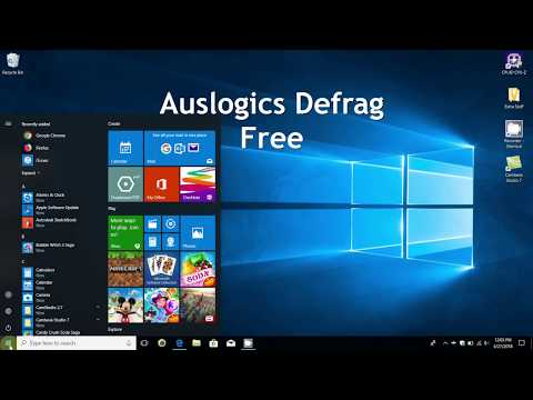 Speed up Windows - How to defrag Windows Hard Drive (Auslogics) Faster  Laptop