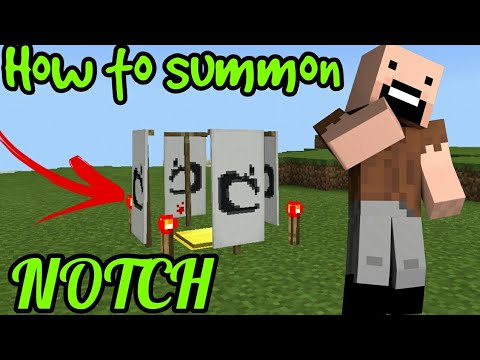 How to spawn NOTCH in Minecraft Pe