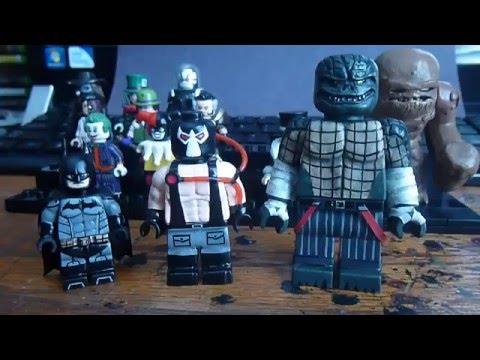 Custom Lego Batman Minifigures and Package from Batman Arkham Knight 13
