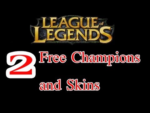 How to get 2 FREE League of Legends Skins and Champions! NEW!