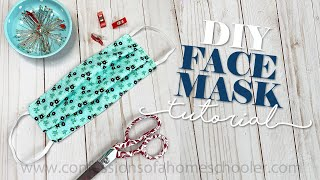 How to SEW a Medical FACE MASK // TUTORIAL