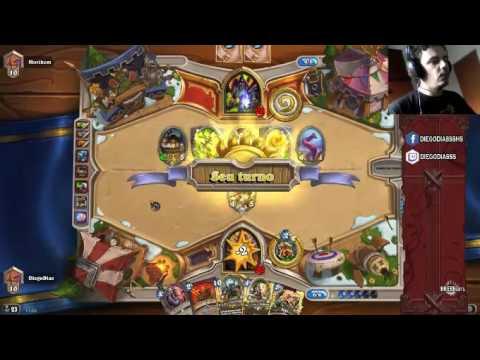 Diego Dias Game Play N'Zoth Warrior HearthStone