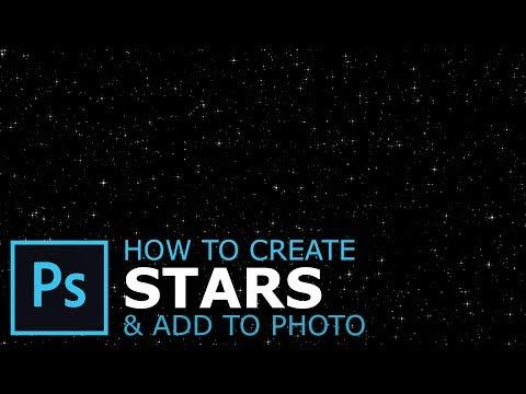 How to Create Stars in Photoshop