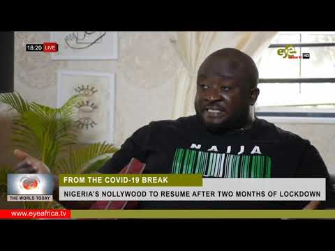NIGERIA'S NOLLYWOOD TO RESUME AFTER TWO MONTHS OF LOCKDOWN