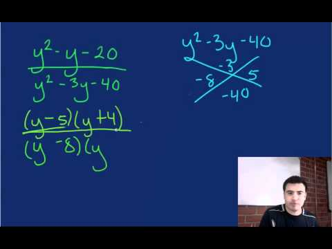 Simplifying Rational Expressions- Challenge Part 2