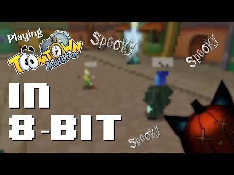 8-bit Toontown! Super sp00ky! (Toontown in a super-small window size)