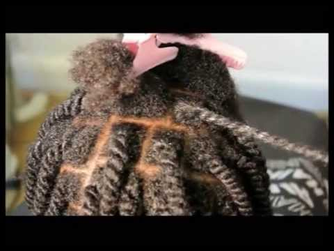 NATURAL TWO STRAND TWIST FOR AFRO & MIXED RACE HAIR - PAIN-FREE