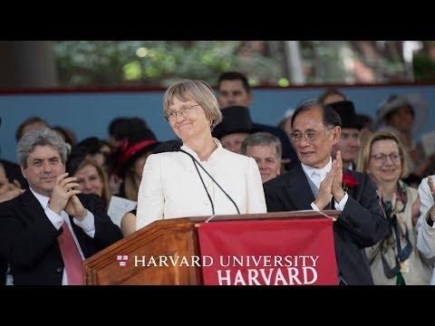 Harvard President Drew Gilpin Faust Address | Harvard Commencement 2018