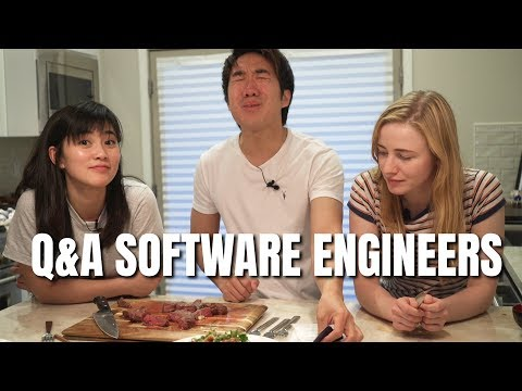 Software Engineering Q&A While Cooking! (ft. Mayuko!)