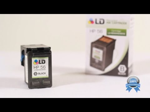 LD Products Replacement for HP 56 Ink