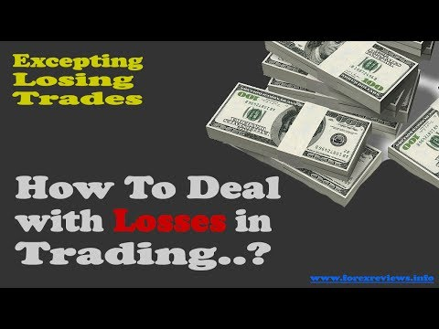 How To Deal With Losses in Trading