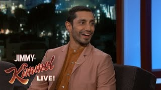 Riz Ahmed Rapped His Way Out of a Scary Situation