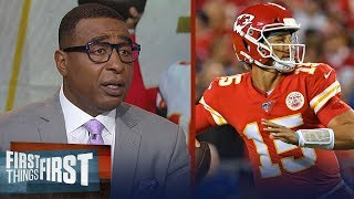Nick and Cris disagree on who is the MVP through the first 5 weeks | NFL | FIRST THINGS FIRST