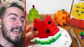 ÖĞLE YEMEĞİNDE LEGO YİYEN ADAM ?!