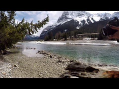 Follow me around Field's and Lake Louise - April 19