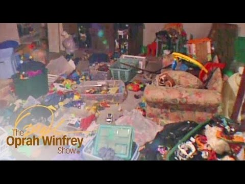 Decluttering a Catastrophically Messy Basement in a Few Simple Steps | The Oprah Winfrey Show | OWN