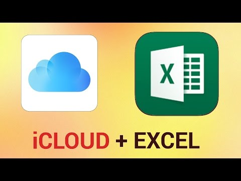 How to Open iCloud Files in Excel for iPad