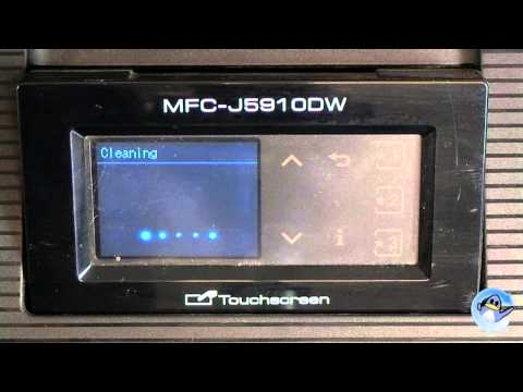 Brother MFC-J5910DW: How to do Head Cleaning