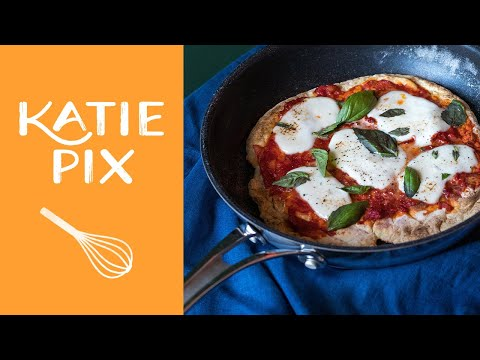15-Minute Pizza on the Hob Recipe | Katie Pix