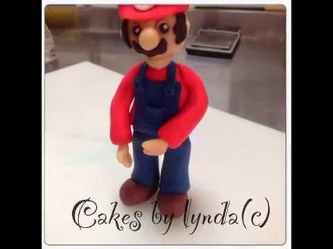 Fondant Super Mario Tutorial