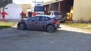 Tests Monte-Carlo 2017 C3 WRC (Kris Meeke )