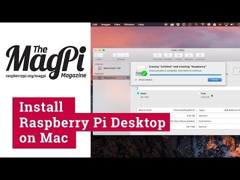 Install Raspberry Pi Desktop on Mac