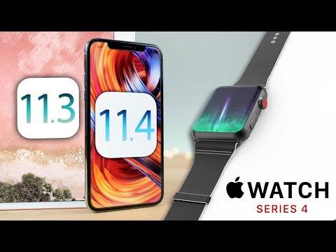 iOS 11.3 Released on iPad 6, iOS 11.4 Confirmed & Apple Watch 4 Leaks!