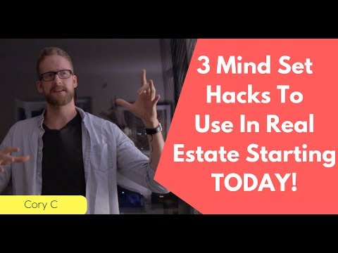 3 Mindset Hacks To Use In Real Estate
