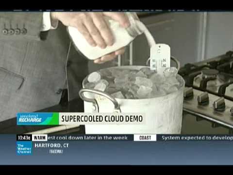 Fallstreak hole cloud explained with a dramatic demo