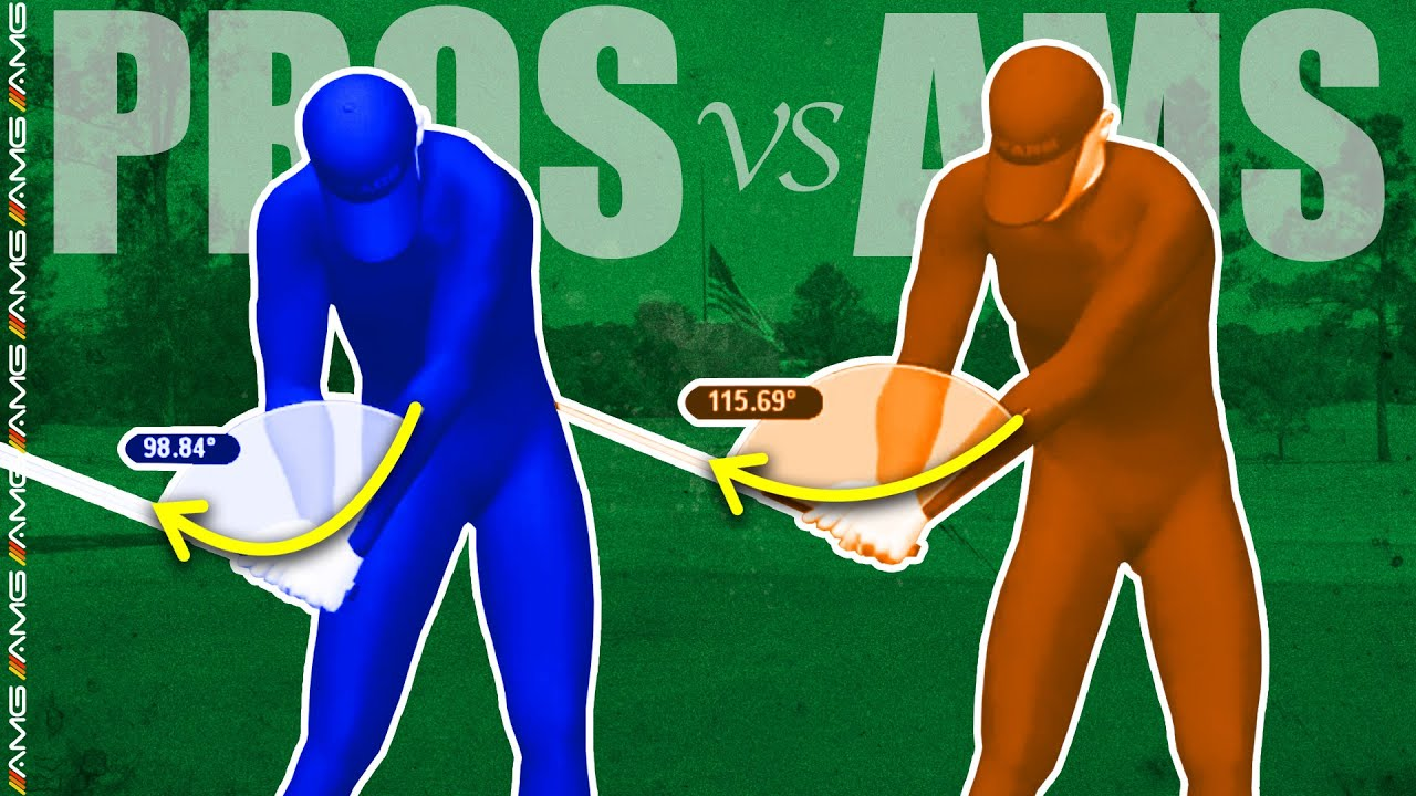 [PROS vs. AMS] | Create LAG In Your Golf Swing