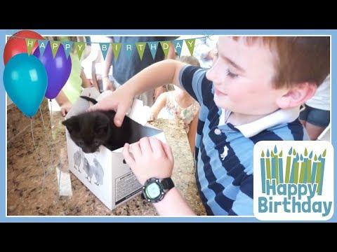 HAPPY 8TH BIRTHDAY MASON! (April 29th, 2018) VLOG