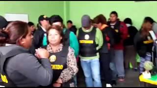 """PresentaciÓn De La OrganizaciÓn Criminal """"los Chacales Del Desierto"""" En Chimbote"""