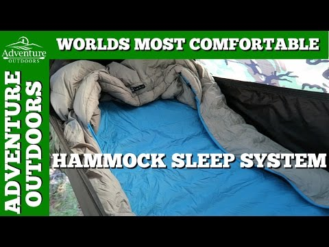 Worlds Most Comfortable Hammock Sleep System