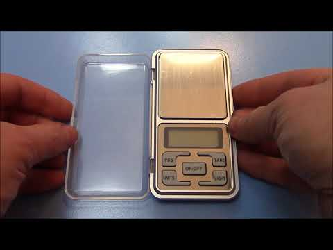 The MH-Series Digital Pocket Scale Review Instructions And Unboxing