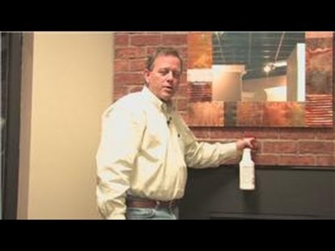 Fireplace Maintenance : How to Clean a Brick Above a Fireplace