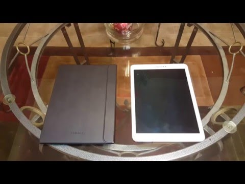 How to install Galaxy Tab S2 Book Cover