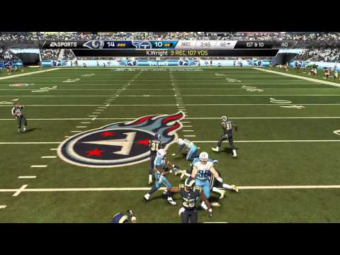 Madden 25 :: XBOX ONE Gameplay ::ASTRONOMICAL GAME! - Rams Vs. Titans - Online Gameplay XboxOne