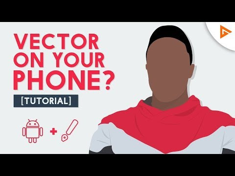 Make Cartoon/Vector AVATAR on ANDROID | Tutorial