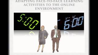 Learning Activities in the Online Environment