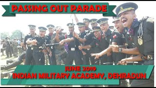Passing Out Parade 2019 | Indian Military Academy, Dehradun | June 2019