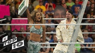 Shocking Money in the Bank Ladder Match moments: WWE Top 10, June 16, 2018
