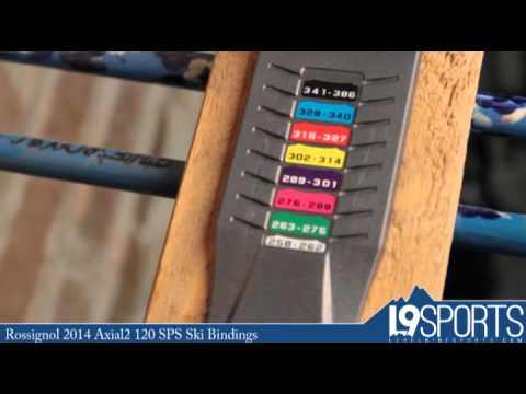 Rossignol 2014 Axial2 120 SPS Ski Bindings