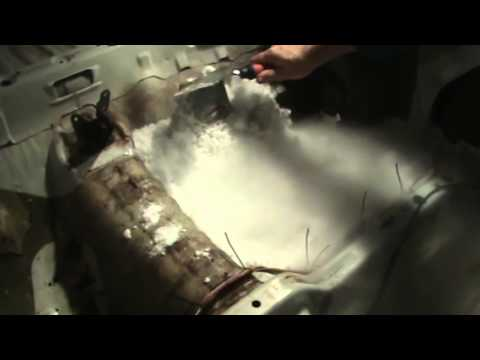 The Right Way to Remove Sound Deadening with Dry Ice