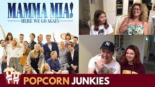Mamma Mia! Here We Go Again - Official Trailer Family Reaction & Review