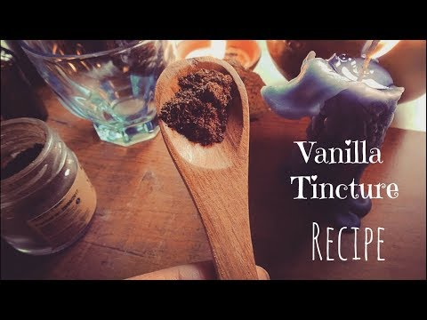 Vanilla Tincture Recipe ( NO ALCOHOL)