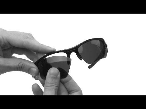 Oakley Flak Jacket XLJ Lens Replacement & Installation Instructions