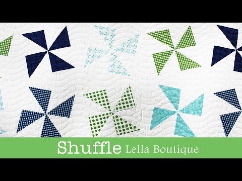 How to Make the Shuffle Quilt - Lella Boutique - Fat Quarter Shop